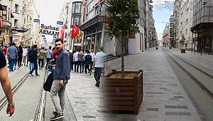 Taksim Meydanı ve İstiklal Caddesinde Ölüm Sessizliği