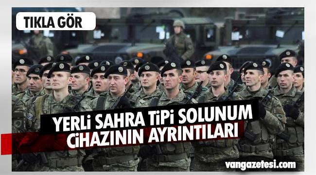 Türkiye, yerli sahra tipli solunum askeri sağlık ürünleri nasıl?