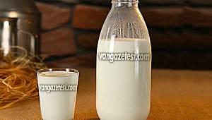 Uzmanlar açıkladı - Van'da doğal sütten 1 bardak içmek kemiklere iyi geliyor