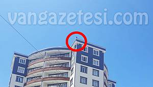 Van'da 11'inci katta intihar girişimi