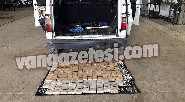 Van'da 2 kişi tutuklandı – 2 çuval 82 paket eroinin cezası