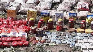 Van'da 3000 kg tahıl ve 2500kg kuru bakliyat ele geçildi