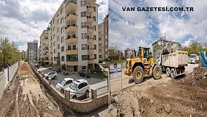 Van'da bu mahallede yol çalışmaları başladı