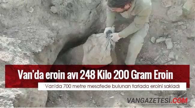Van'da eroin avı - 248 Kilo 200 Gram Eroin - Akıl almaz eroin savaşı