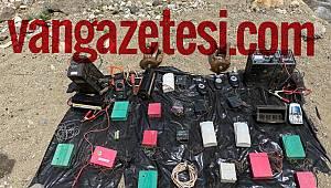 Van'da terör örgütünün barınak ve depoları tespit edildi - Van haber