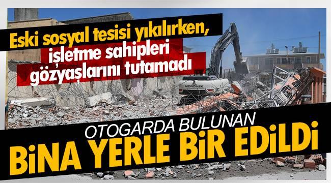 Van Otogarındaki bina yerle bir edildi