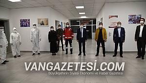 Van Sağlık ve Gençlik Spor İl Müdürleri yurtları ziyaret etti