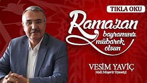 Vesim Yaviç'ten Ramazan Bayramı mesajı