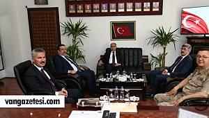 Aktaş, İl Emniyet Müdürü Ali Karabağ'ı makamında ziyaret etti