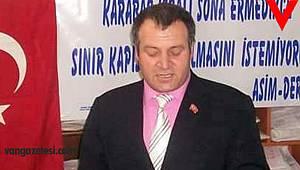 Asimder başkanı Gülbey, Van açıklaması ve siyasi açıklama