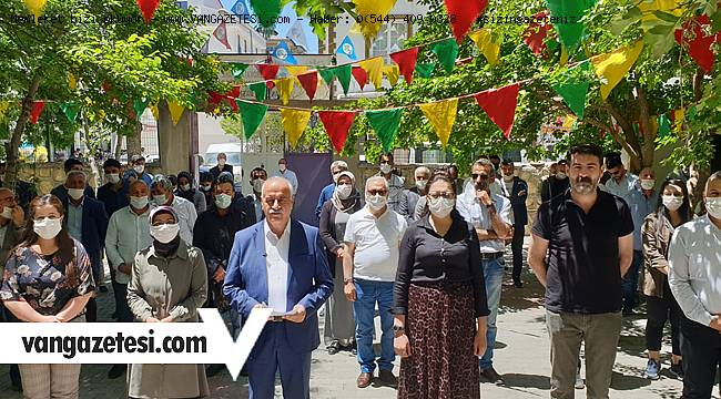 HDP'den Flaş Açıklama! Van'da kamu kurumlarına ve oda başkanlarına sert çıktı