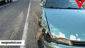 Diyarbakır'da tır otomobile çarptı - trafik kazası