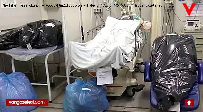 Hastanelerden tüyler ürperten görüntüler