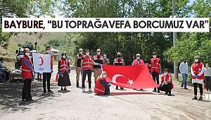 """Kızılay Gevaş ilçe koordinatörü Seferi Baybure, """"Bu toprağa vefa borcumuz var"""""""