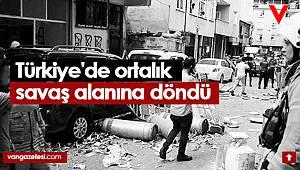 Son dakika! Türkiye'de ortalık savaş alanına döndü - Büyük Patlama - 6 yaralı