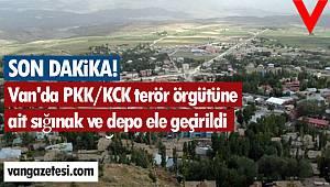 Van'da PKK/KCK terör örgütüne ait sığınak ve depo ele geçirildi - Sığınağın içindekiler şok etti