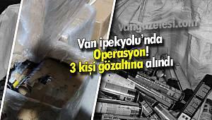 Van İpekyolu ilçesine Operasyon - 3 kişi gözaltına alındı