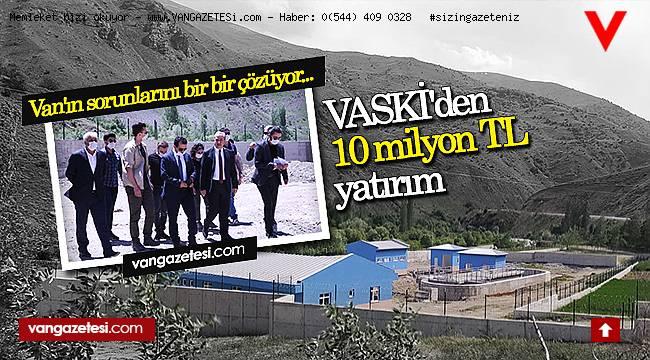 VASKİ'den 10 milyon TL yatırım - Van'ın sorunlarını bir bir çözüyor...