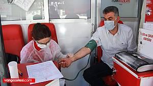 YAKA marketlerinden kan bağışı örneği - Halkın sevilen işletmesi