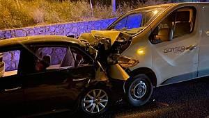 Zincirleme trafik hazası! 4'ü çocuk 9 yaralı