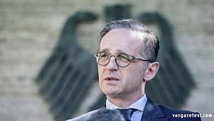 Almanya Dışişleri Bakanı Heiko Maas, Türkiye'ye Suriye'deki operasyon hakkında konuştu
