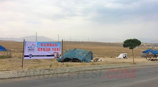 Edremit Belediyesi Kurban Kesim Yerlerini Belirledi