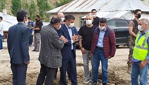 Erciş belediyesi başkan vekili incelemelerde…