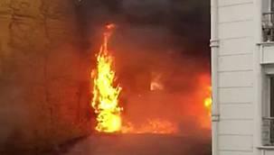 Korkunç Yangında 2 Can Kaybı