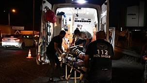 Motosiklet kazası - hızını durduramadı ve bacağı koptu