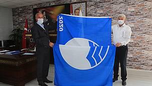 Tuşbanın mavi bayrak sevinci