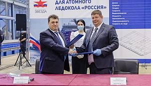 """Uzak Doğu'da Nükleer Buzkıran """"Rossiya""""nın Yapımına Başlandı"""