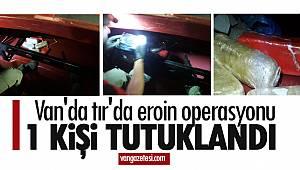 Van Gevaş'a Operasyon! - 1 kişi tutuklandı