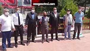 Van Erciş'te Milli beka hareketi açılışı gerçekleştirdi - Özel Haber