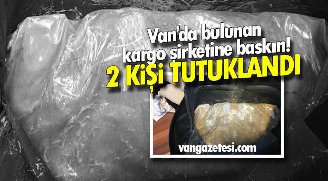 Van haber - Van'da bulunan kargo şirketine baskın – 2 kişi tutuklandı