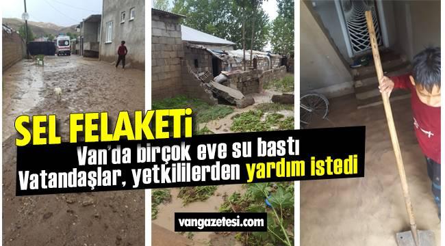 Van haber - Van'da Sel Felaketi – Van Merkezde çoğu ev kullanılamaz hale geldi