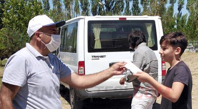 Van mezarlıklarında koronavirüs tedbirleri