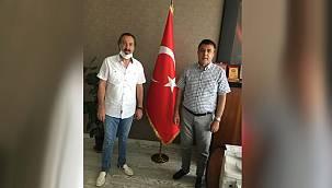 Veysel Koç'tan Van Sağlık İl Müdürü Mahmut Sünnetçioğlu'na ziyaret