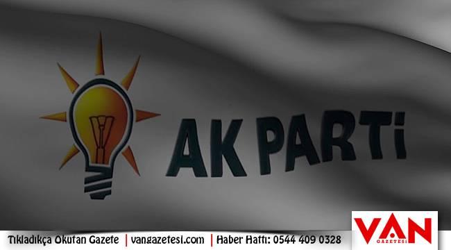 Van AK Parti 'den Erciş ve Muradiye'ye yeni atama
