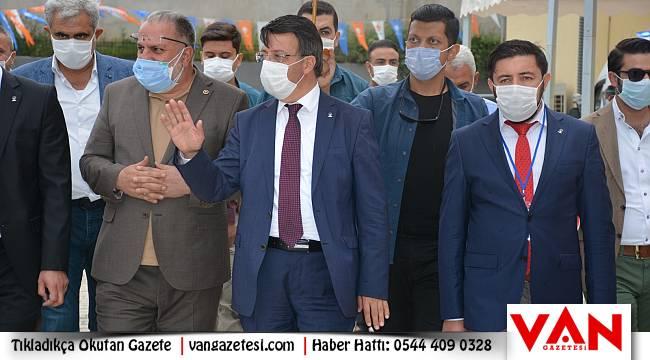 Ak Parti Van Edremit Kongresi yapıldı