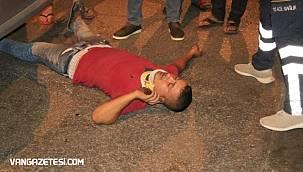 Alkollü sürücü kazada ilk telefonuna sarıldı ve...