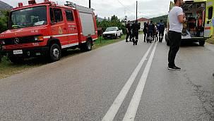 Egnatia Odos'ta Trafik kazası! 8 göçmen hayatını kaybetti