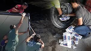 Pes dedirtecek kaçakçılık - Van'da 13 bin 800 paket kaçak sigara - 1 kişi tutuklandı - VİDEO