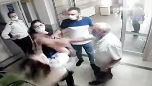 Son dakika Van haber; Hastanede kadın görevliye yumruklu saldırı