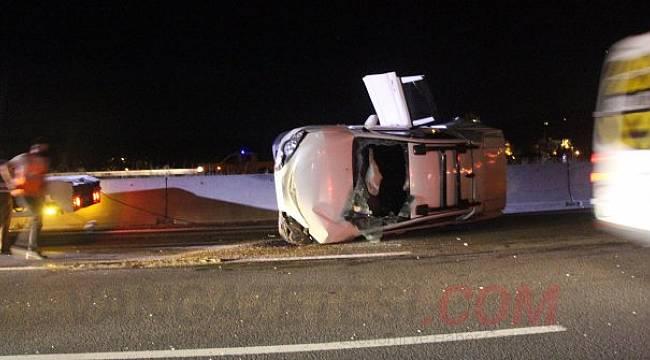 Van'da işçileri taşıyan kamyonet devrildi 1 ölü 3'ü ağır 17 kişi yaralı