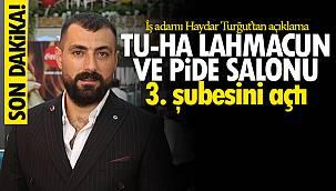 Van'da TU - HA Lahmacun ve Pide salonu 3. şubesini açtı