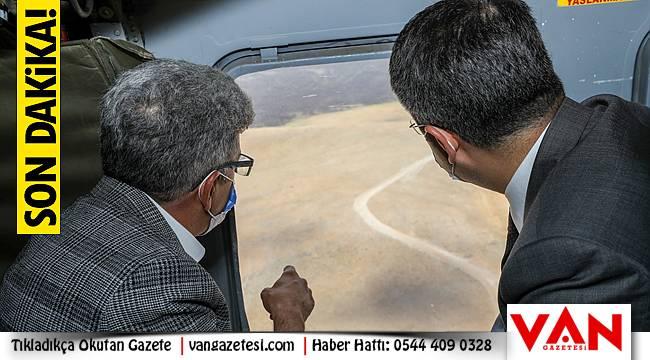 Van Valisinin İran sınırında… Son dakika gelişmeleri