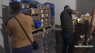 Vanlıların sağlıklarını bu yöntemle zehirliyorlar - Van'da tarihi geçmiş 2 ton et imha edildi
