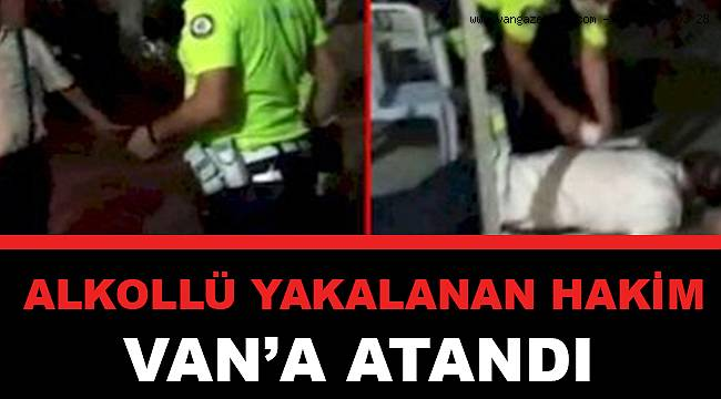 Alkollü Yakalanan Hakim Van'a Atandı