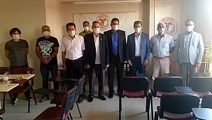 CHP'li KURUKCU'dan VAN TABİPLER ODASINA DESTEK ZİYARETİ