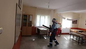 Hayrullah Tanış'tan anlamlı düşünce - Okullar dezenfekte edildi